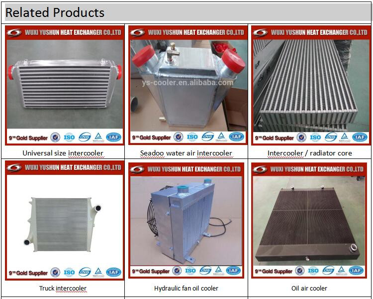 Gold Supplier Of Plate And Bar Fin China Aluminum Oil Cooler For ...