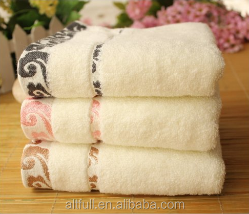 Super Soft Super Value 100% Cotton Jacquard Softness Face Towel