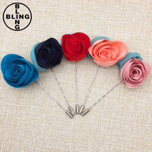 >>>Wedding Flower Corsage Jacket Lapel Pin Fashion Flower Lapel Pin Brooches for Women Suits