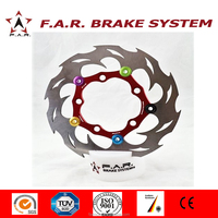 2016 Motorcycle scooter Floating 245mm Brake Disc for yamaha cygnus