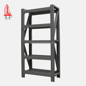 multi-level heavy duty shelf stainless steel knock down cheap corner shelf supermarket warehouse heavy load shelf