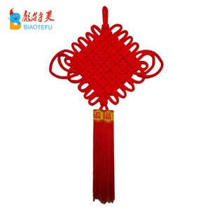 best selling handcrafts tassel red Chinese knot