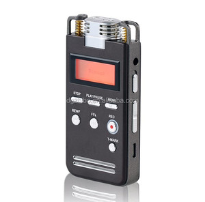 Portable 8GB Digital Voice Audio Recorder Dictaphone MP3 Player with Disk 3D Sound recording Lessons