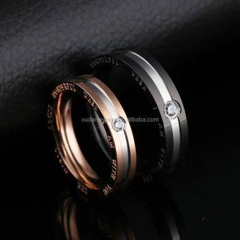 Dubai Latest Patterns Model 3 Grams Gold Couple Ring Price For Man
