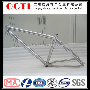 Titanium Trekking Frame Belt Drive Splitter And Titanium Bicycle ...
