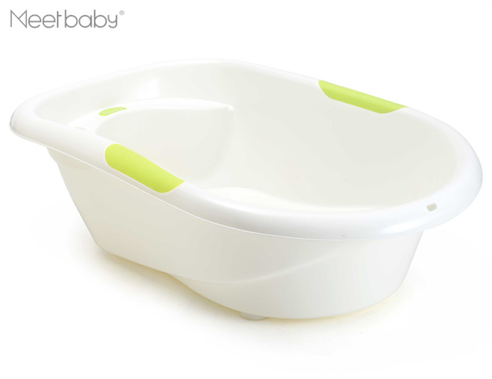 Kleur en Afdrukken Baby Product Baby Bad Draagbare Baden Bad met Antislip Mat Baby Kids Kinderen Plastic Bad