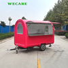 2018 Wecare Best sale concession bbq trailers for sale