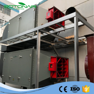 Electrostatic Filter for Industrial Smoke Oil Particle Removal
