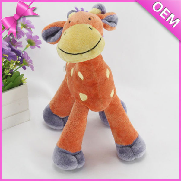 15cm Standing Stuffed Animal Giraffe Plush, Yellow Stuffed Giraffe Toy, Giraffe Plush Toy