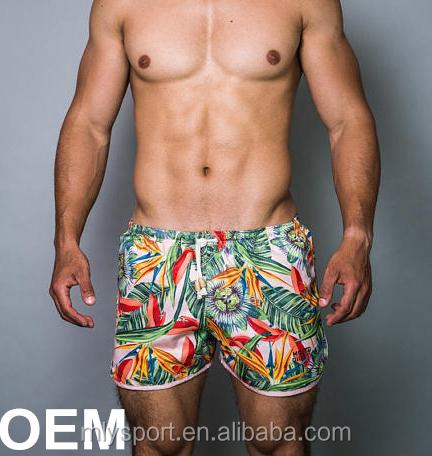 e4d1eedfb3 2018 New Style Oem Mens Swim Shorts Printed Custom Swimwear ...