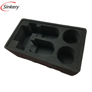 electrical conductive polyurethane black tool box foam sheets