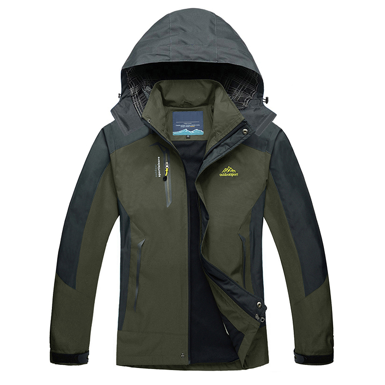Factory Oem  Waterproof 5000mm  Breathable Softshell Fall Running Jacket Imported From China