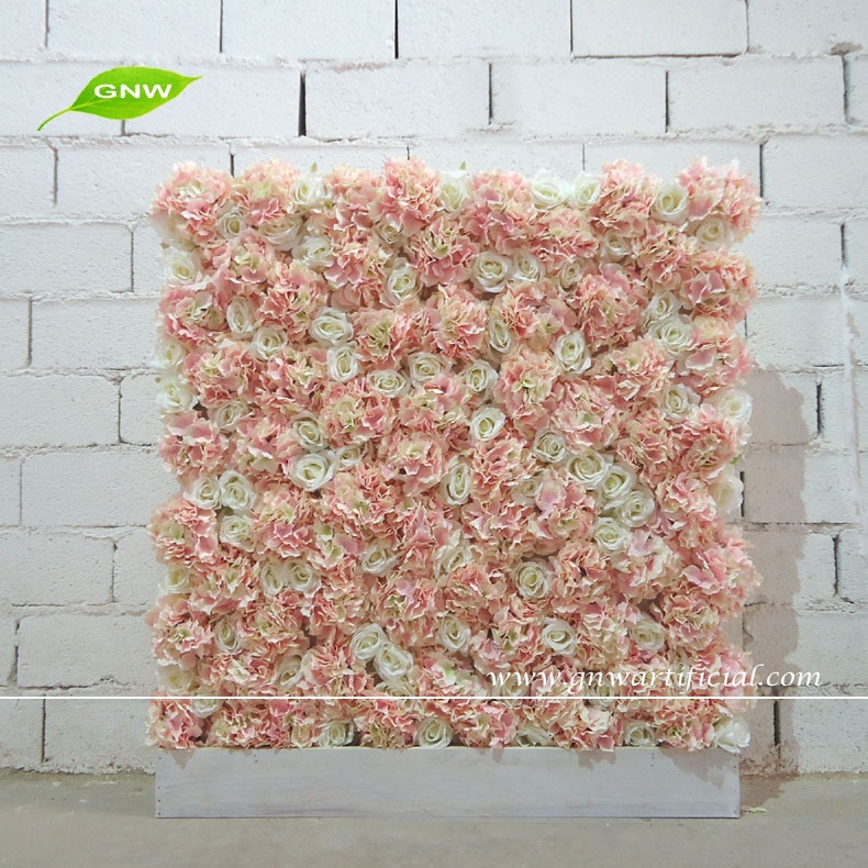 gnw 3ft rose de mariage rose et de fleur de mur d. Black Bedroom Furniture Sets. Home Design Ideas