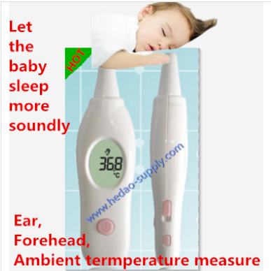 Digital LCD Thermometer Medical Baby Adult Body Safe Ear Temperature