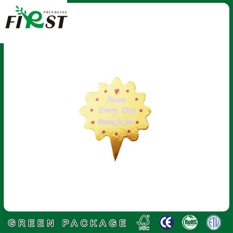 gold card paper ,decorative paper card for cookie