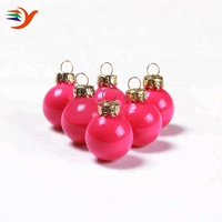 Factory direct sale cheap colorful wholesale glass christmas ball ornaments