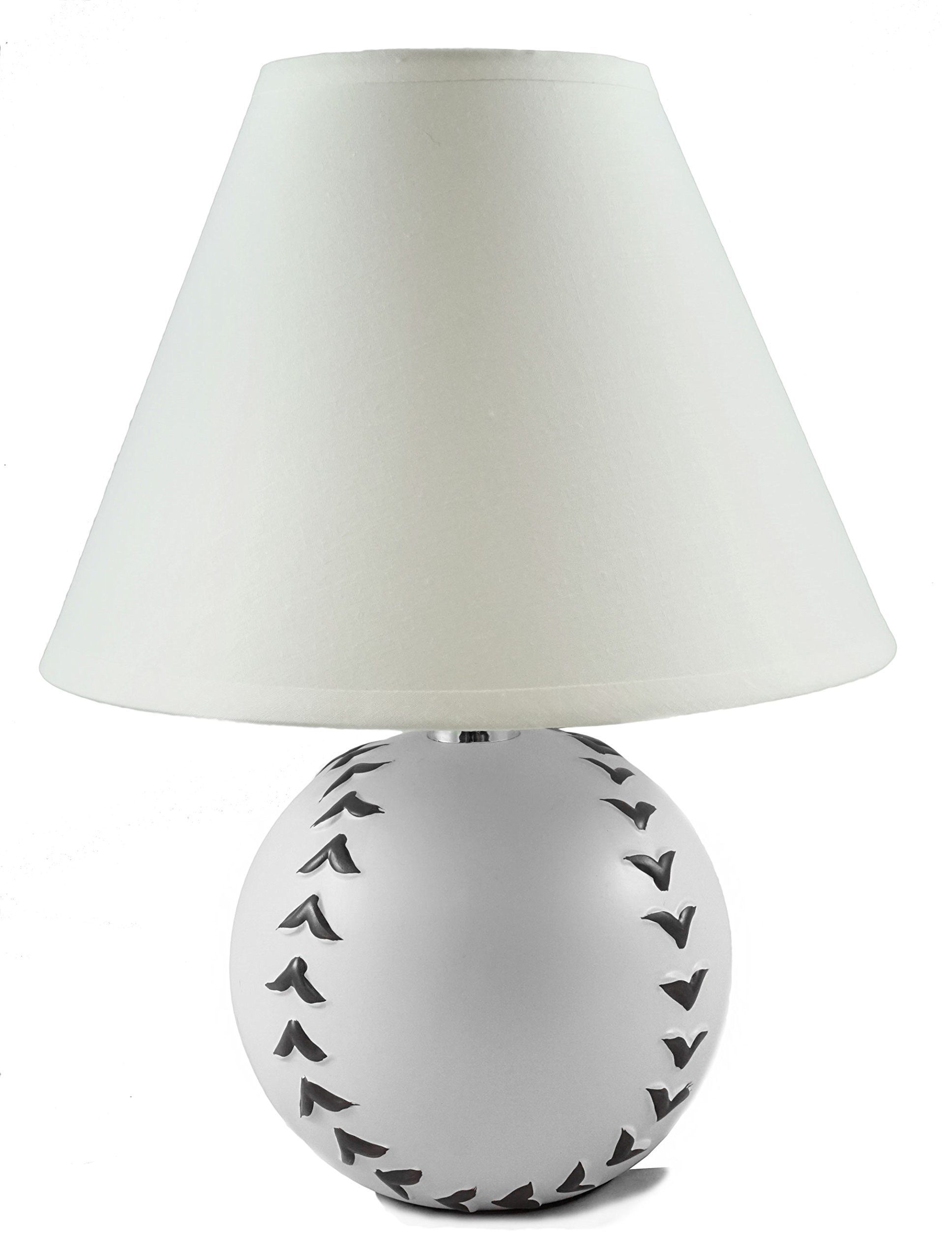 Baseball Plug In Sports Table Lamp