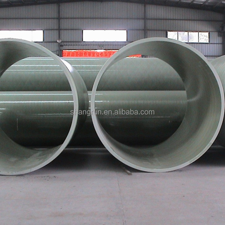 Fiberglass composite process water treatment pipe