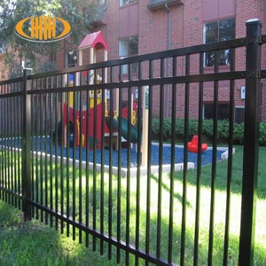 security iron pool fence solar roof mounting system