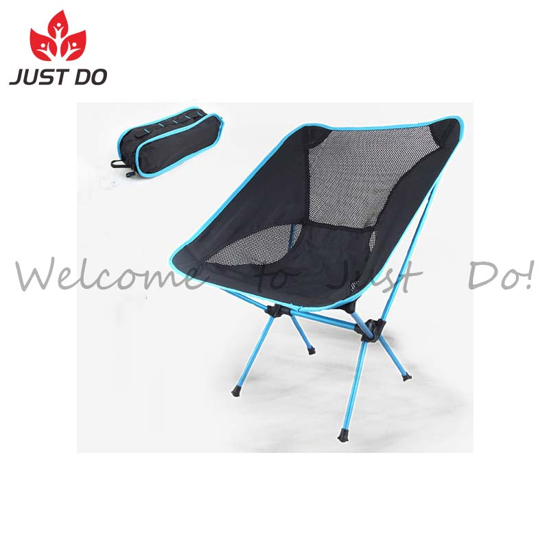 Ultralight Padded Folding Portable Camp Beach Chair with Carry Bag