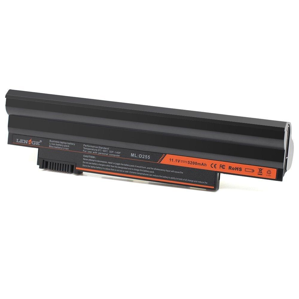 LENOGE Laptop Battery for Acer Aspire One D255 D257 D260 522 722 Fit Notebook Battery P/N: AO722 AL10A31 AL10B31 AL10BW AL10G31 BT 00603 121 LC BTP00 Aspire one 522 Aspire Lion Samsung Cell