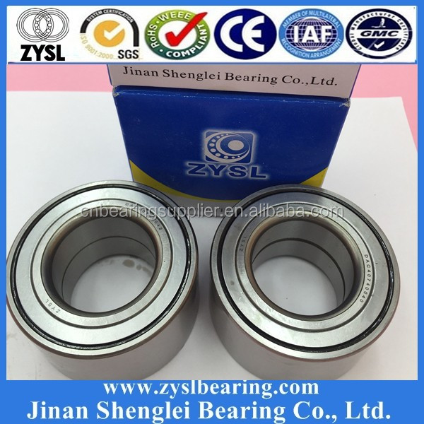 Auto motor vehicle wheel bearings 25*60*45mm GB12439 wheel hub ball bearing DAC25600045