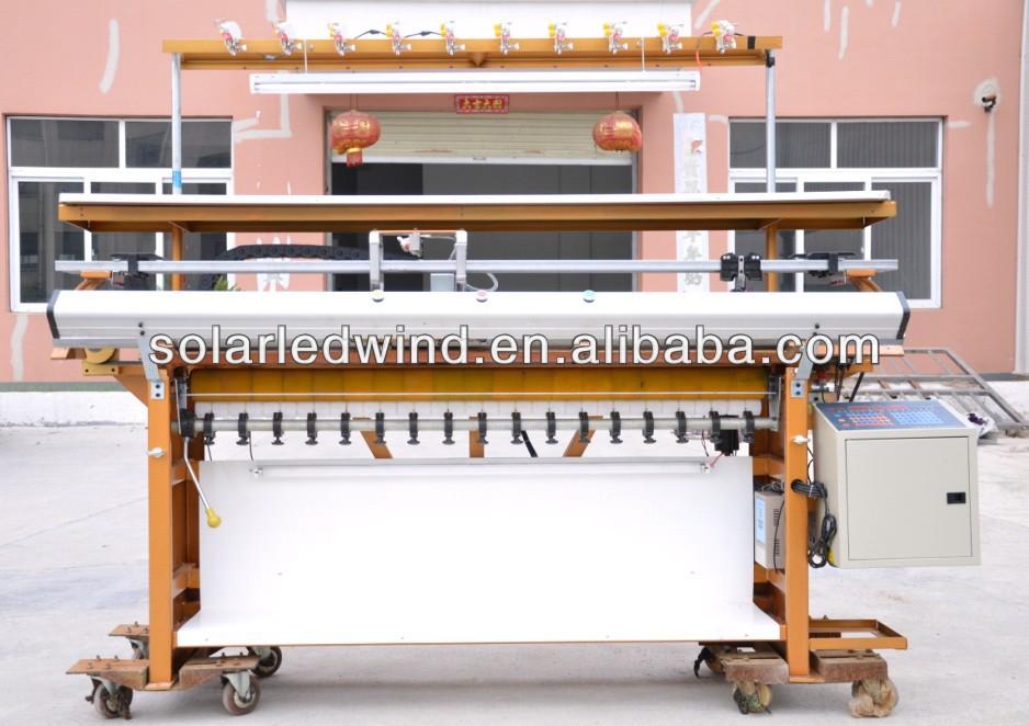 2015 China Semi Automatic Flat Bed Knitting Machine For Knitting ...
