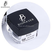 Biomaser Cream Type Permanent Makeup Pigment Manual Cosmetic Eyebrow Tattoo Microblading Ink Black Brown Color