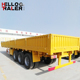 New 3 Axles 40 Tons 40ft Cargo Trailer with Side Wall