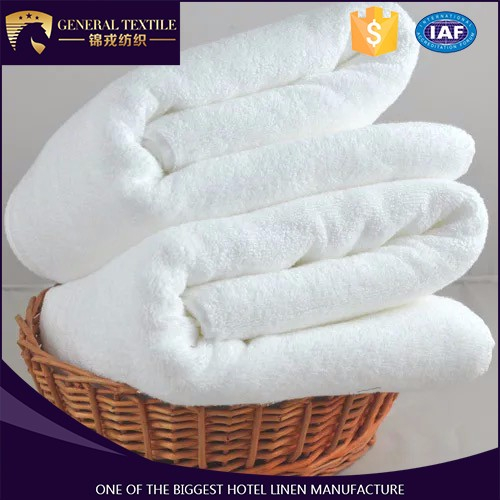 100% cotton comfortable towel bed sheet for hotel with cheap price