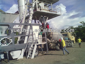 Mobile concrete mixing plant HZSY50