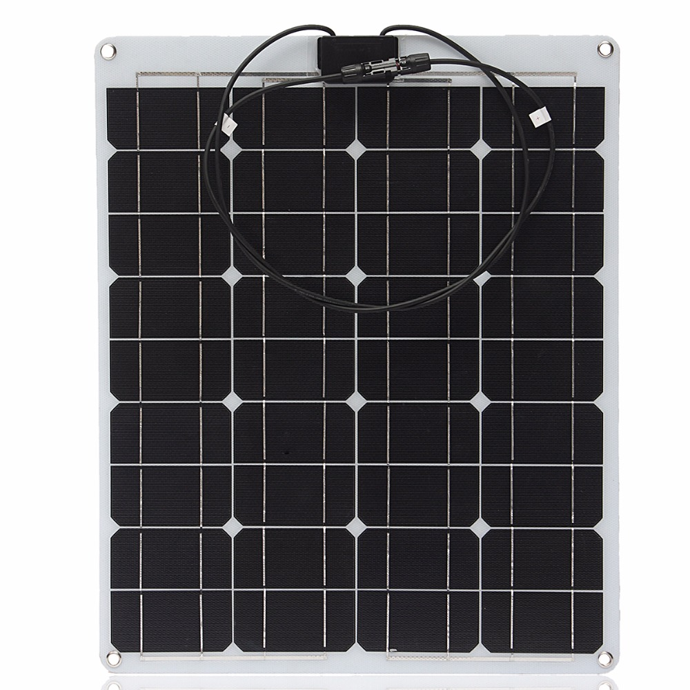 China Cheap Popular Products, Semi Flexible Solar Panels, 50w etfe Panels Solar Direct for the Whole Market