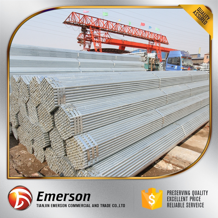 Pre galvanized tube electro galvanizing process top quality galvanized steel pipes Professional Supplier