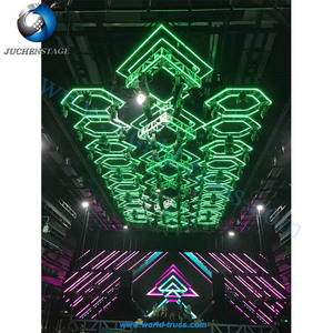 Guangzhou Factory Revolving Truss Price Aluminum Rotating Light Circle Stage Truss for Sale