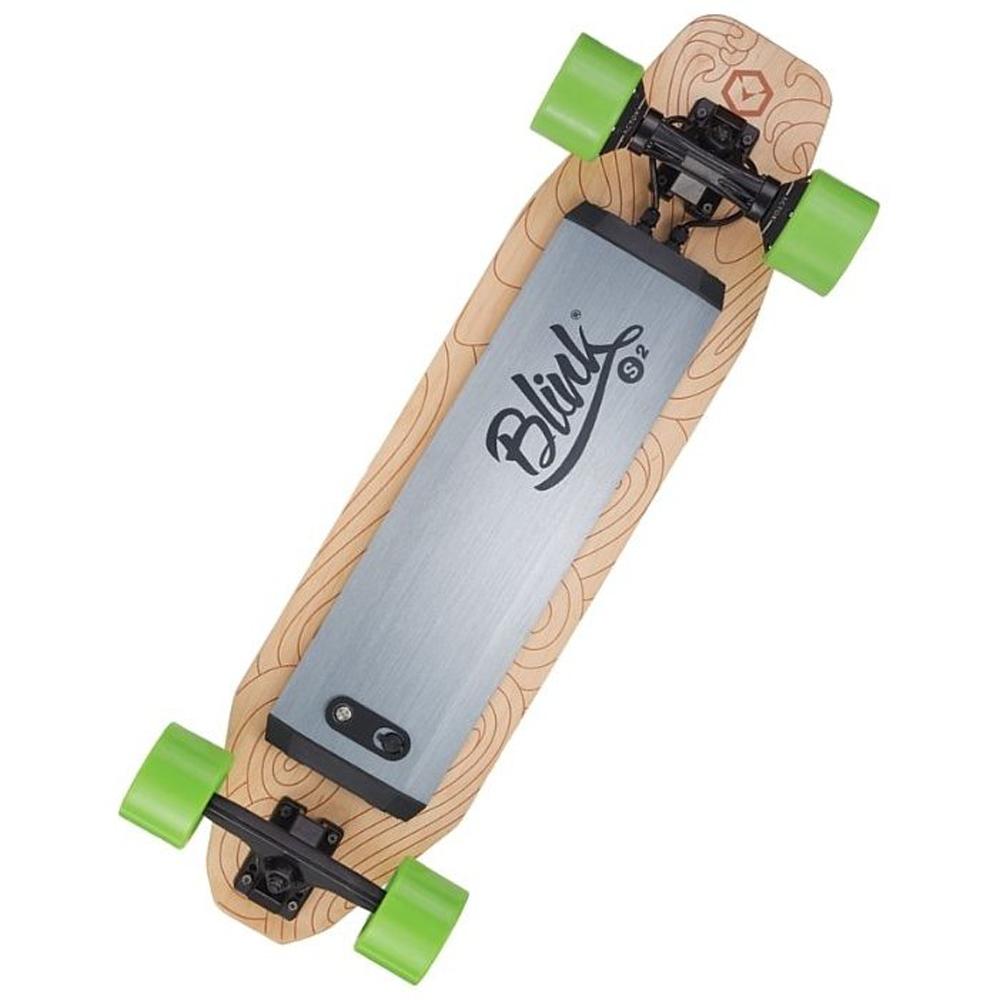 Brand New Hot Selling Acton Skateboard 500W 36V Electric Skateboard, Gray+green