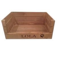 luxury custom new design wooden dog house with cushion