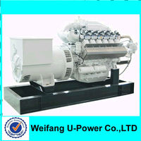 200KW gas generator price!with CHP(cogeneration; Combined heat and power) China supplier good products