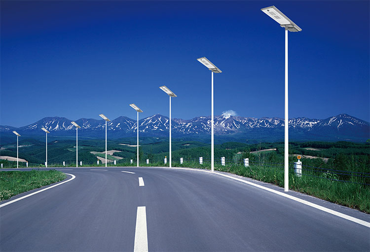 2018 factory price of 15w 20w 30w 40w integrated solar led street lamp