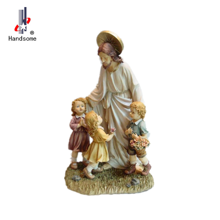 Wholesale  Religious Statues Pieta Jesus polyresin figurine home decor resin craft