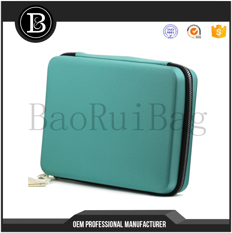 Guscio Duro EVA Pingpong Paddle Bat Caso Table Tennis Racket Bag Cuoio DELL'UNITÀ di elaborazione