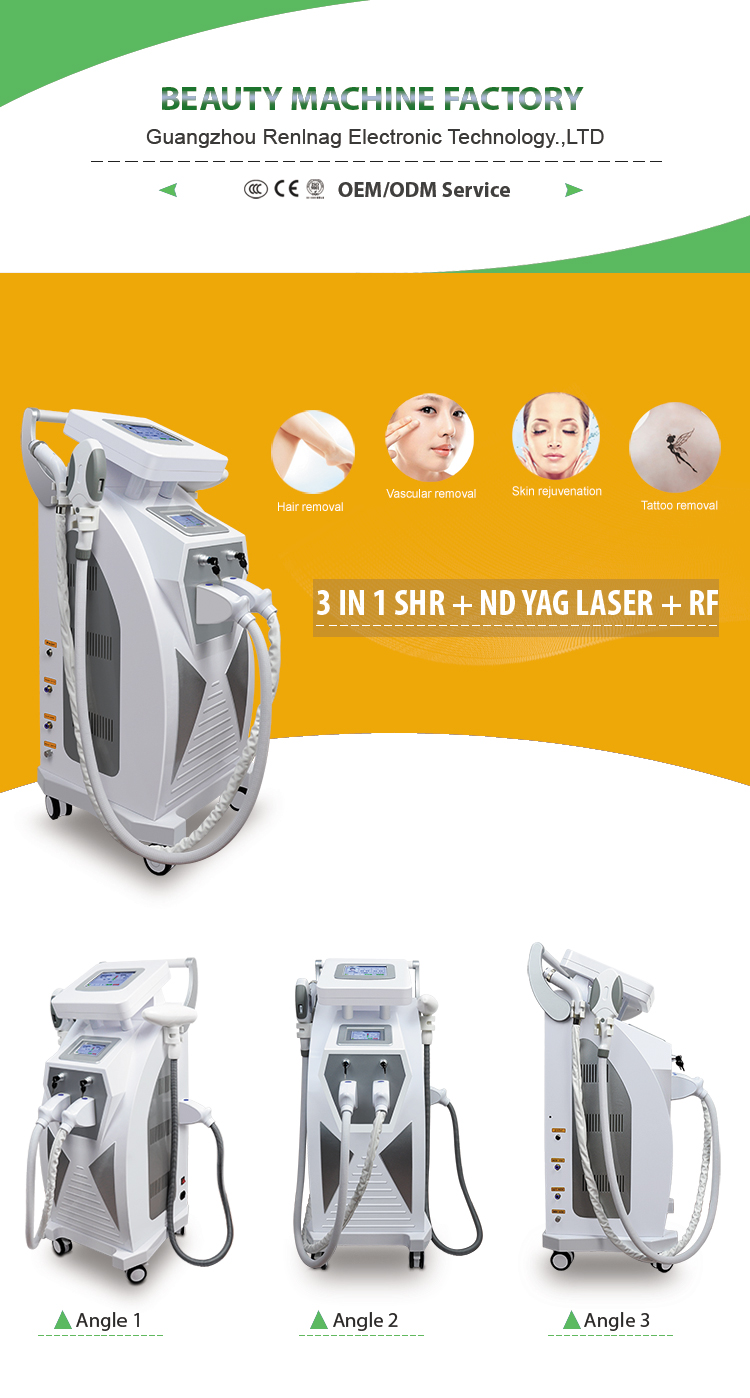 Meilijia Beauty Equipment OPT Hair Remove Machine Profession Shr IPL Laser Technology
