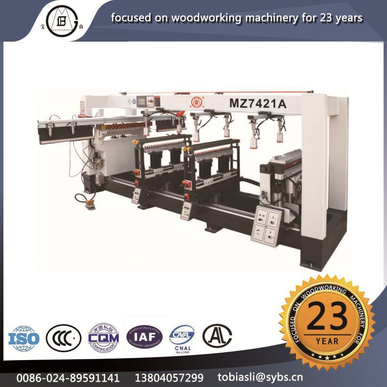 MZ-7421A 2016 hot sale top quality density boards stable property Horizonal wood horizontal boring machine used