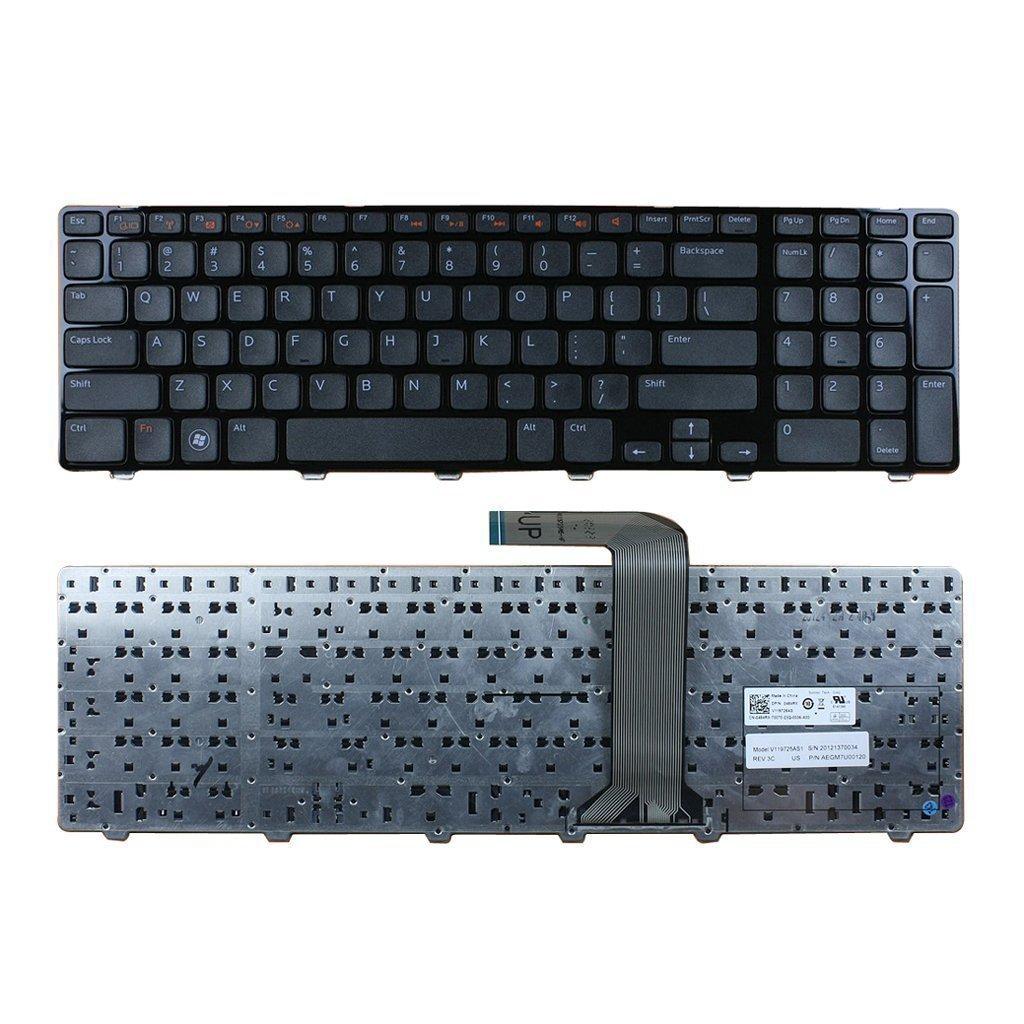 New Dell Inspiron 5720 7720 XPS L702x MODEL/>NSK-DZ2SQ 1D P//N 0M22MF Keyboard