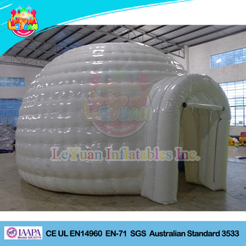 Customized Outdoor inflatable igloo dome tent & Customized Outdoor Inflatable Igloo Dome Tent - Buy Garden Igloo ...