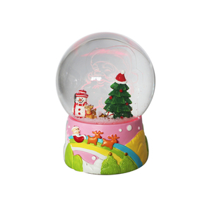 Christmas gifts custom decorate snow globe kit manufacturers