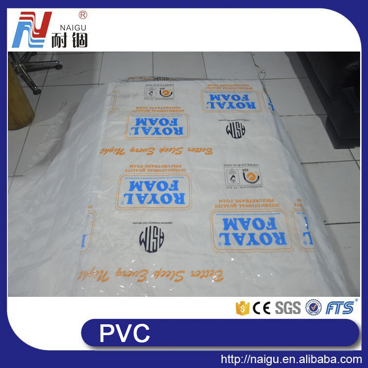 China NaiGu factory pvc mattress cover