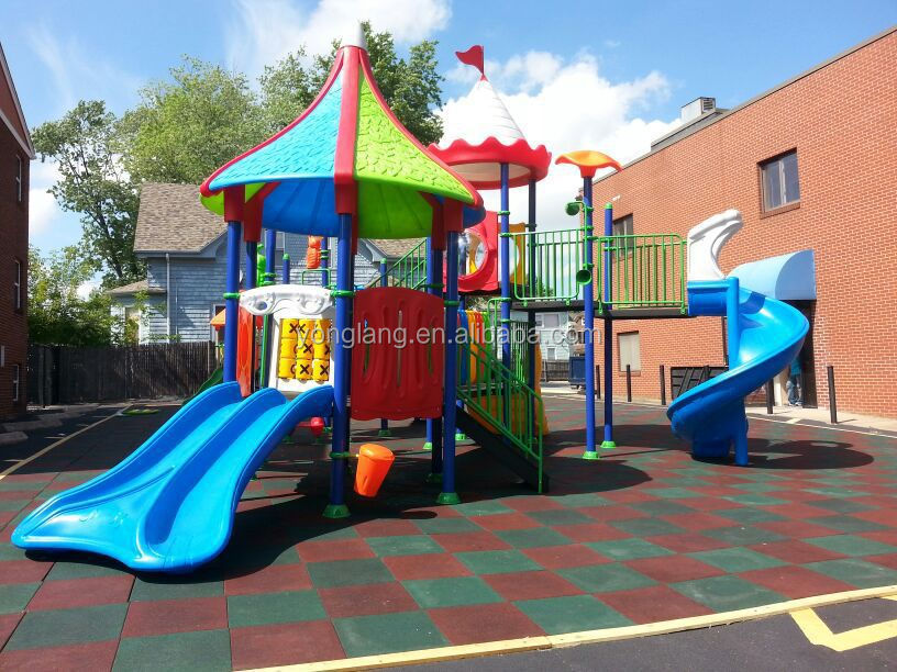 YL-L153 Brinquedos De Plástico de Jardim das Crianças Equipamentos de Playground Slide