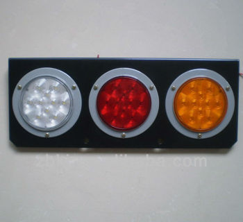 4 Inch Round 3 Hole Led Tail Light With Bracket Buy Tail