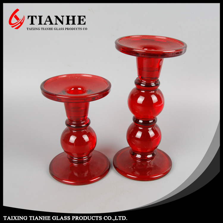 Colored molded make cheap tall glass candle holders buy for Cheap tall candlestick holders
