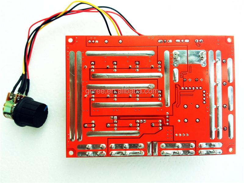 DC 10-50V Motor Speed Control PWM HHO RC Controller 12V 24V 48V 3000W 60A New